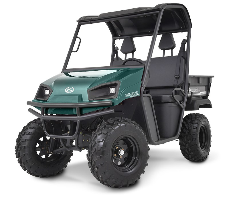 green utility vehicle