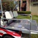 Patriot painted custom cart: seat folds down