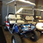 Patriot painted custom cart