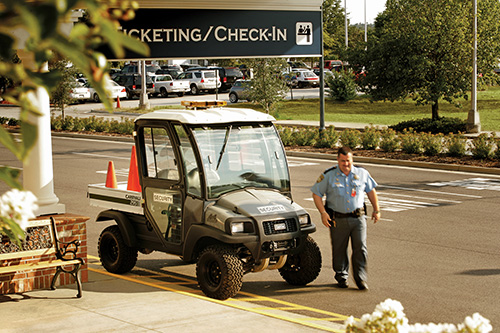airport security vehicle