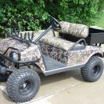 Club Car DS Camo painted