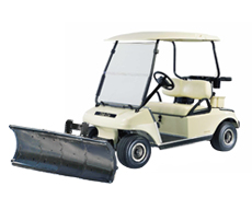 nordic plow golf cart