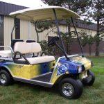 Toledo Rockets Custom Cart