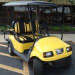 Yellow Cart 3/4 View