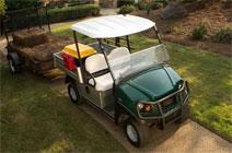 green carryall trailer