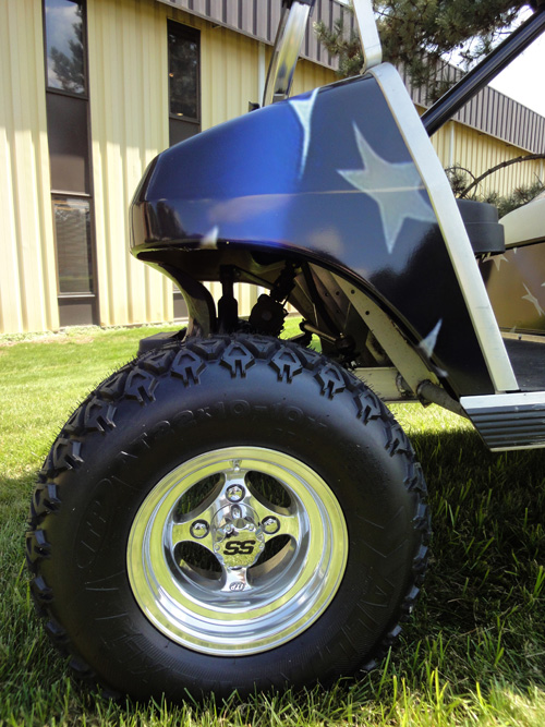 custom tires unit