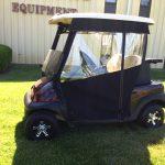 enclosed golf car