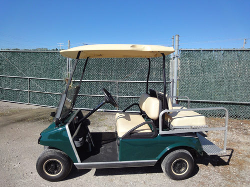 green used cart