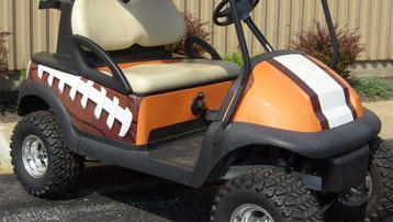 custom side football