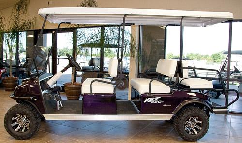 purple 6 passenger xrt 850