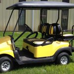 Yellow Cart side view