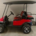 Club Car Red Side View