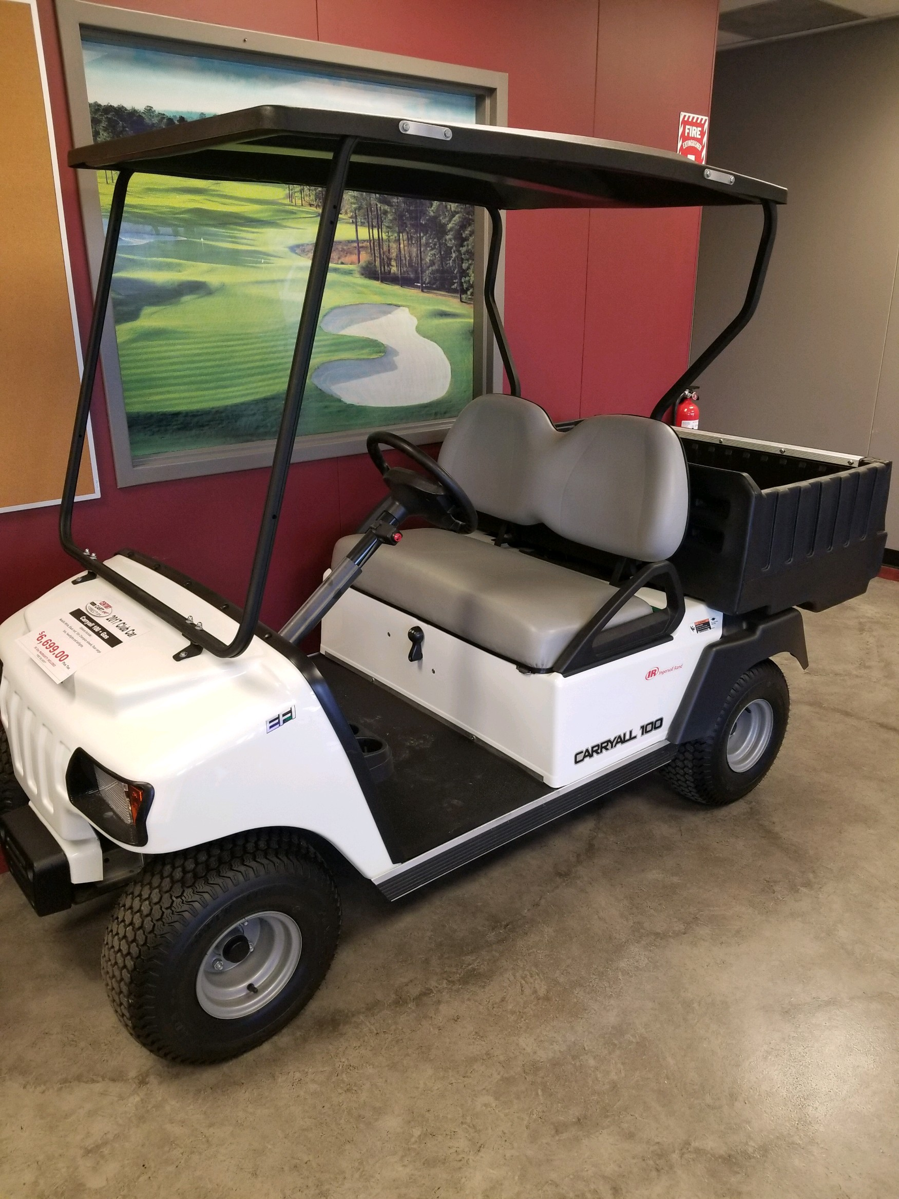 Featured Image for 14. Club Car Carryall 100