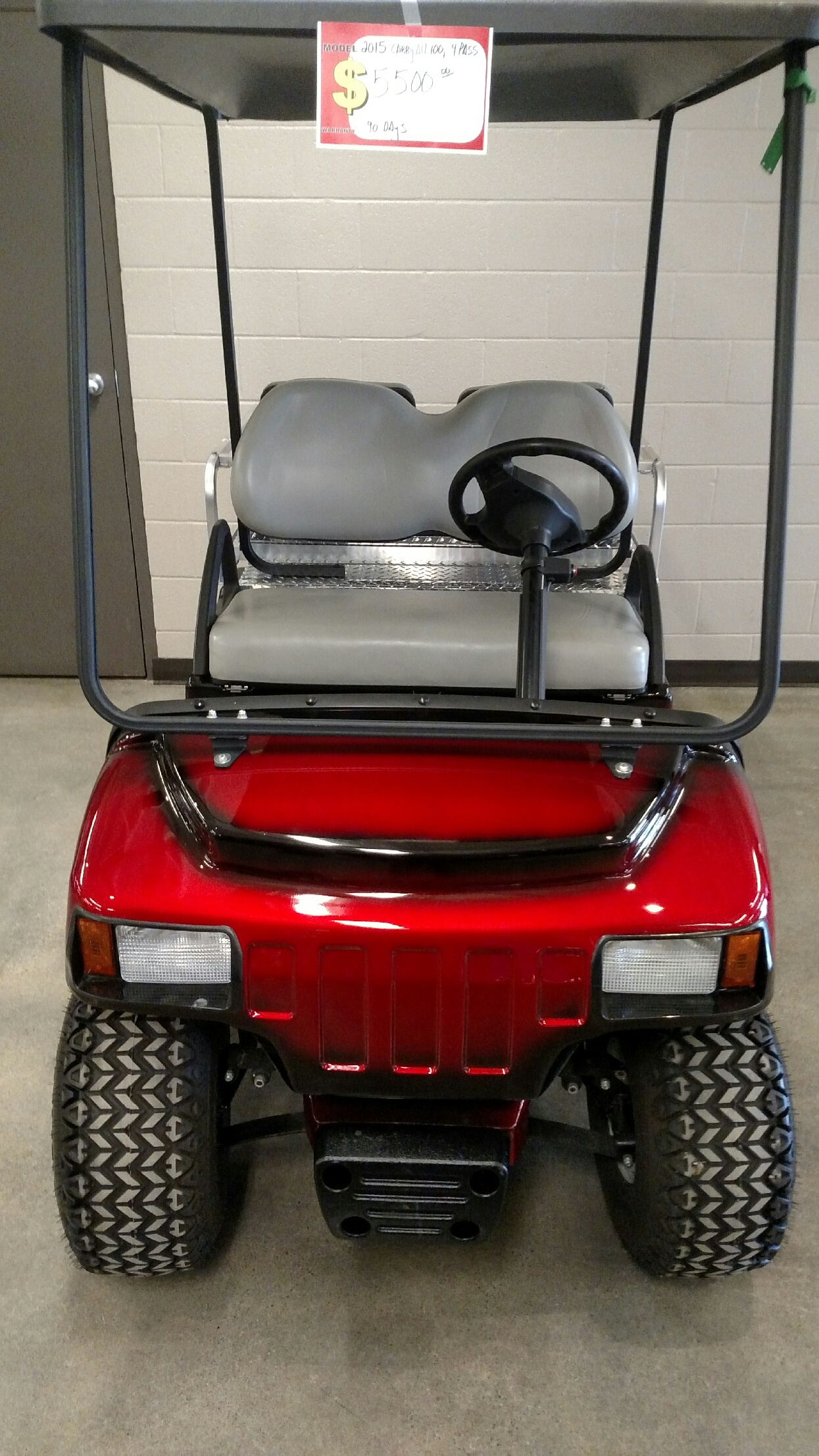 Featured Image for Club Car Carryall 4-Passenger