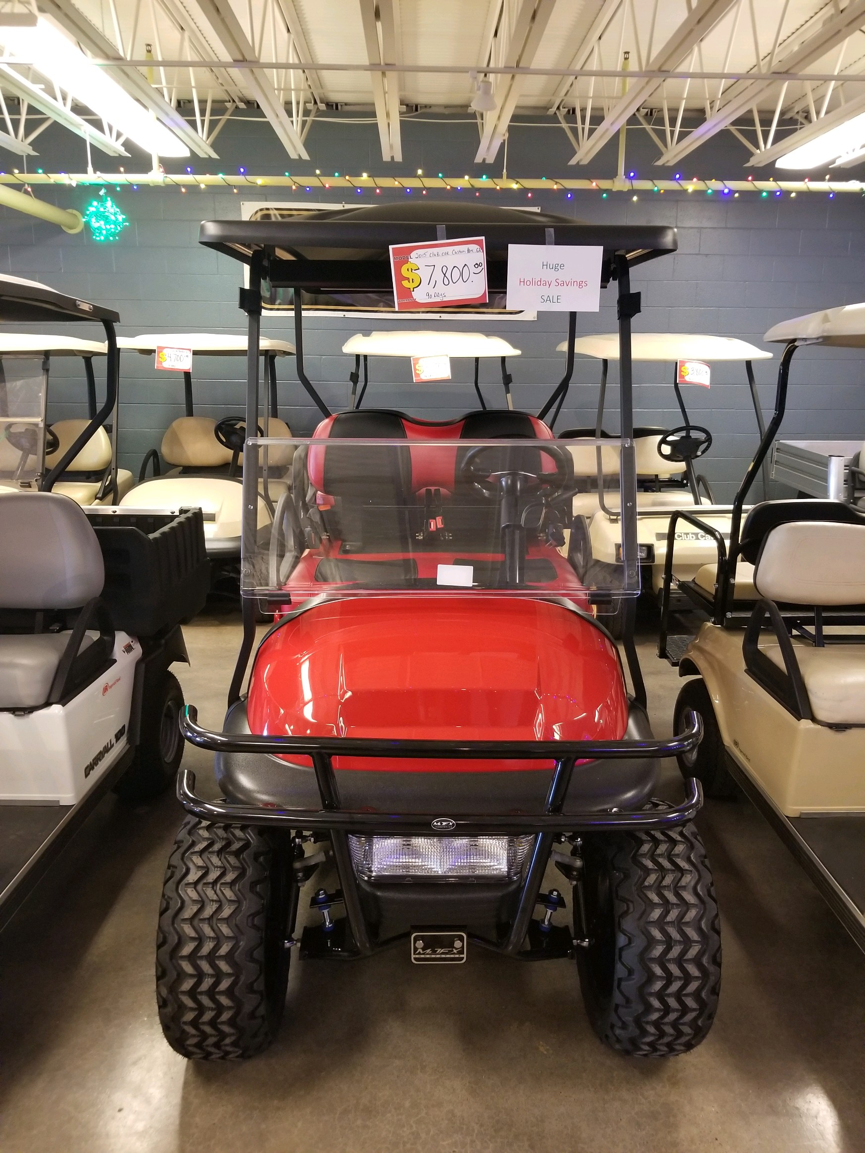 Featured Image for 2015 Club Car Precedent Lifted 4 Passenger Gas