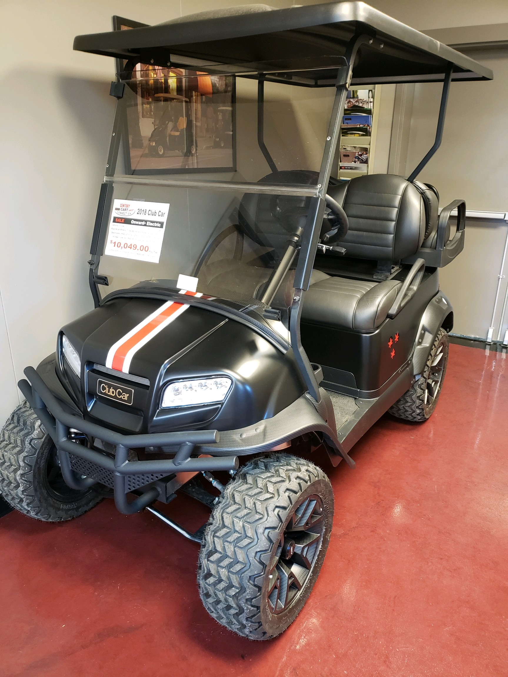 Featured Image for 2018 Club Car Onward Lifted 4 Passenger Electric