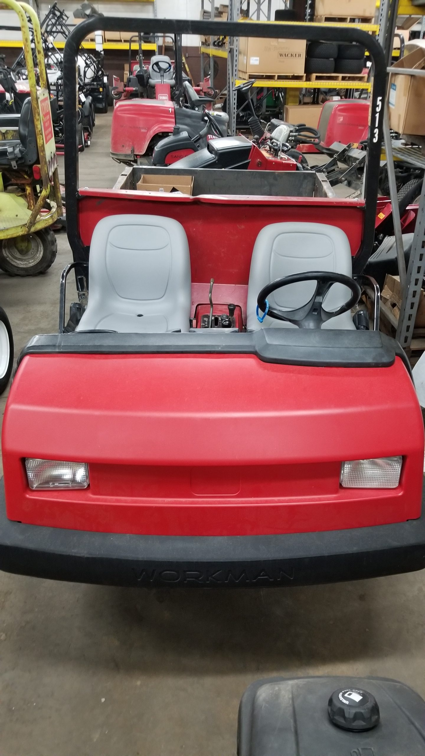Featured Image for 2012 Toro Workman HDX 4WD 2 Passenger Gas