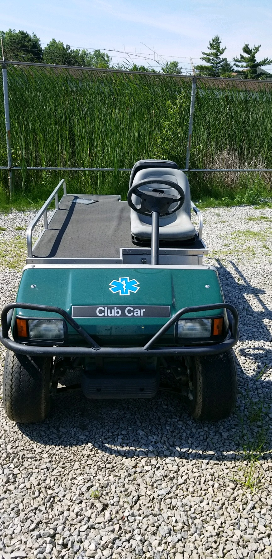 Featured Image for 2009 Club Car Turf 2 Ambulance Electric