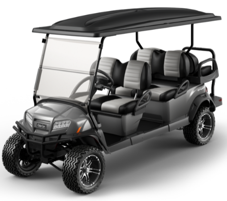 Featured Image for 2021 Club Car Onward Lifted 6 Passenger Gas