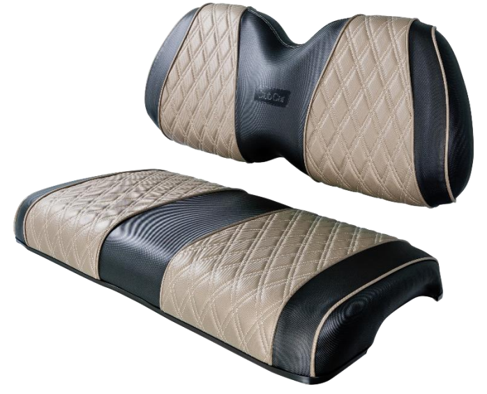 Featured Image for Seat Cover – Front – Black & Beige