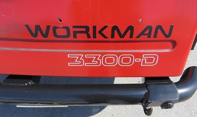 Featured Image for 2009 Toro Workman 3300 2WD 2 Passenger Diesel