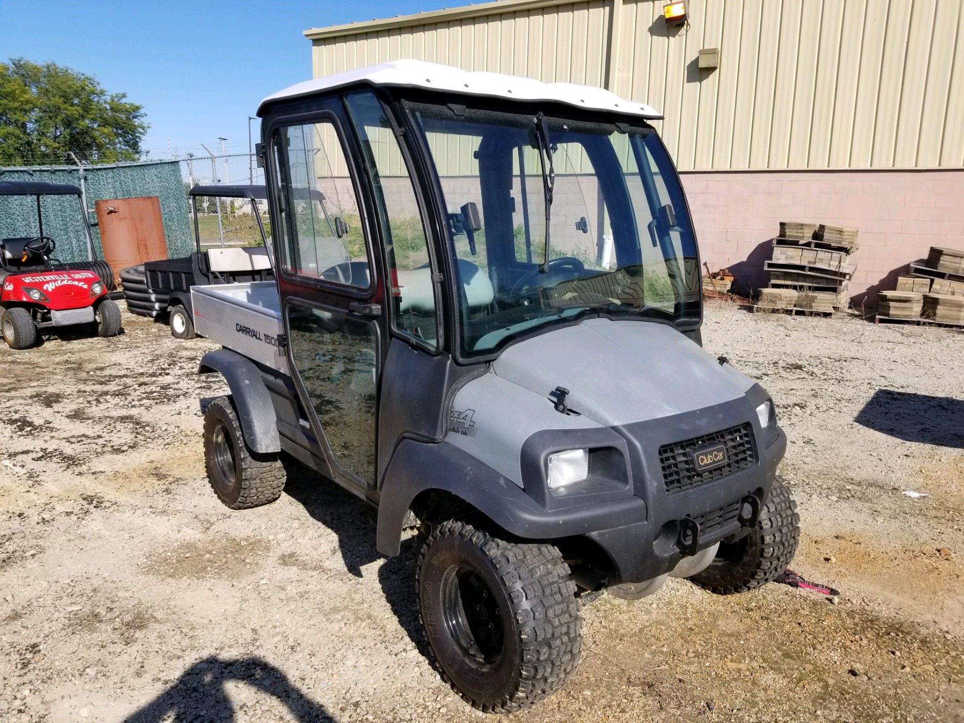 Featured Image for 2016 Club Car Carryall 1500 4WD 2 Passenger Diesel