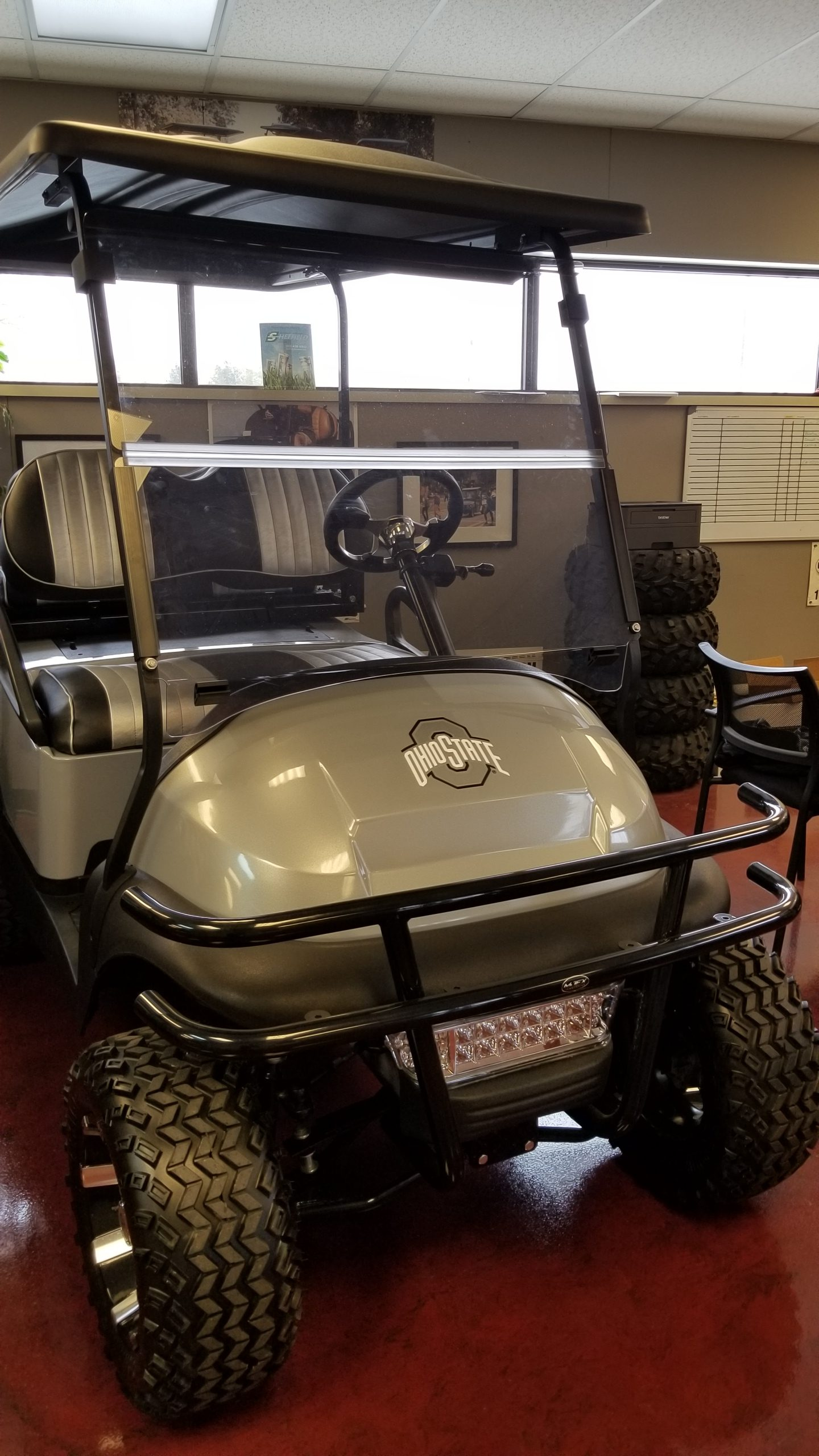 Featured Image for 2013 Club Car Precedent Lifted 4 Passenger Gas