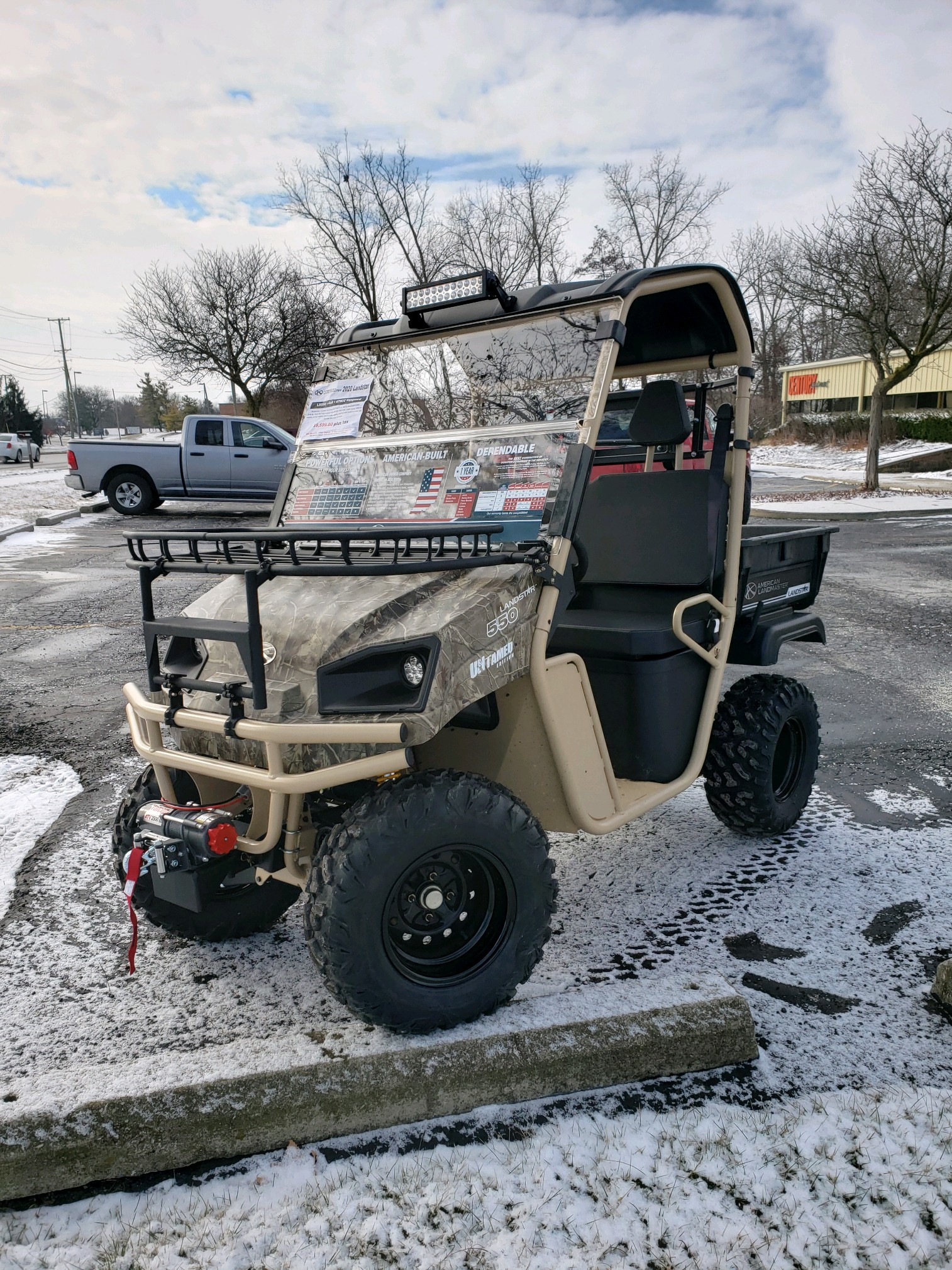 Featured Image for 2020 American Landmaster 550 Untamed 4WD 2 Passenger Gas