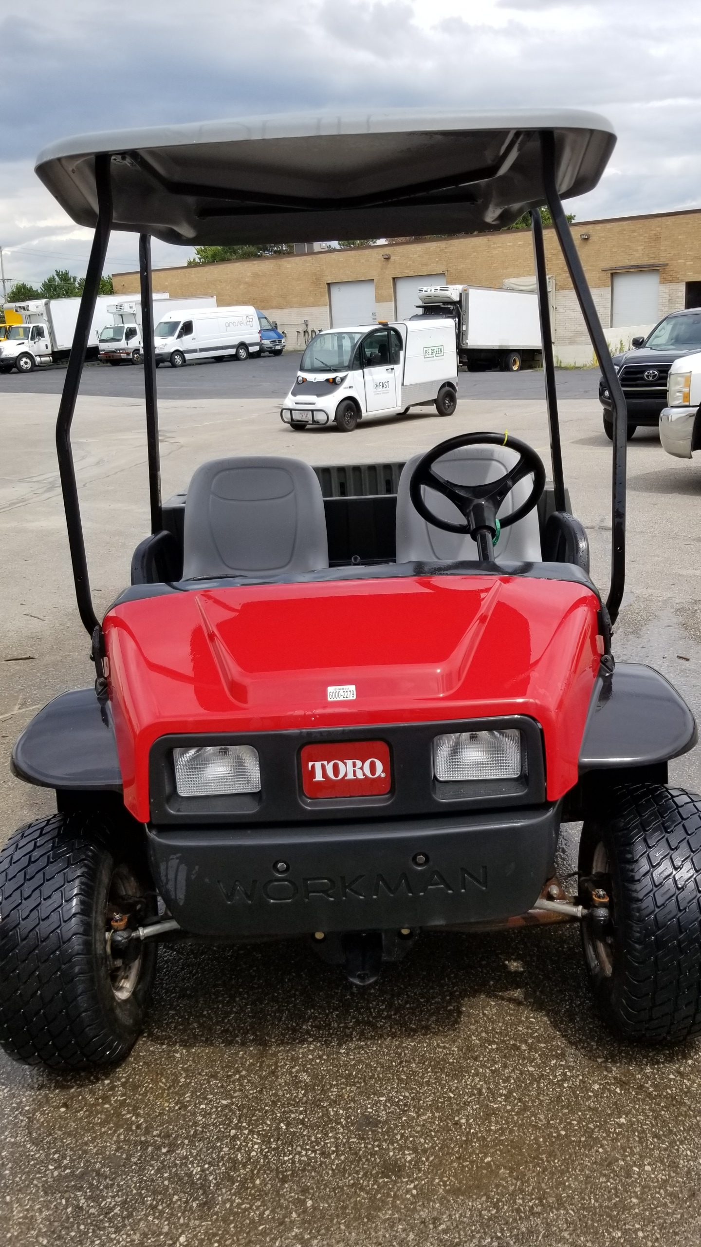 Featured Image for 2015 Toro Workman MD 2WD 2 Passenger Gas