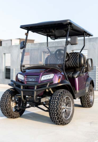Featured Image for 2021 Club Car Onward Lifted 4 Passenger Gas – Twilight Special Edition
