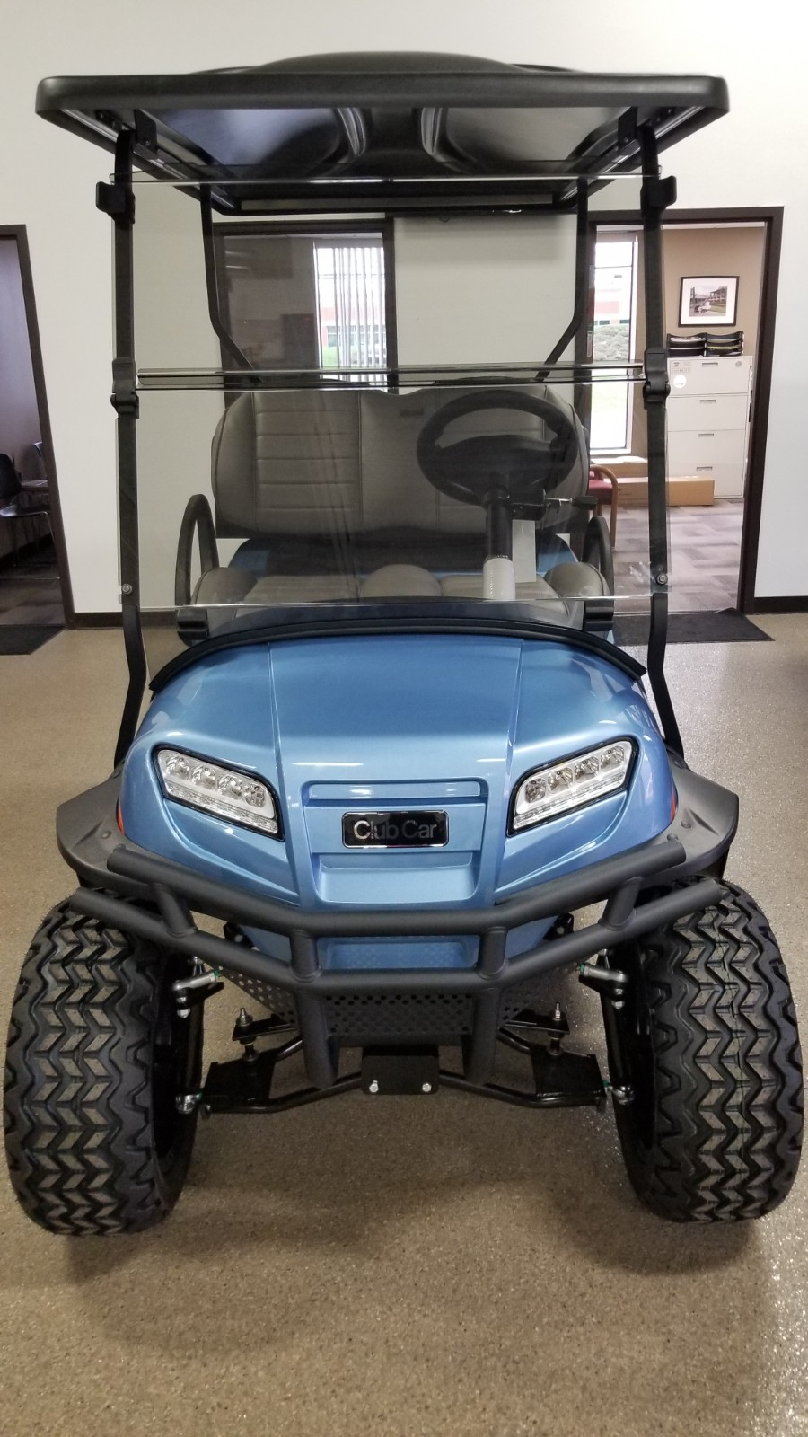 2021 Club Car Onward Lifted 4 Passenger Gas Post Thumbnail